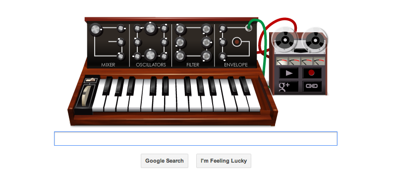 Google Doodle 23rd May