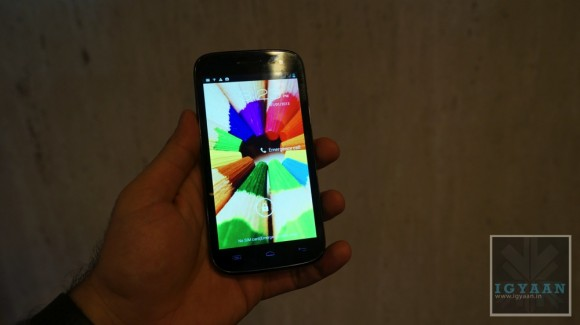 micromax a116 canvas 3 front