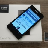Sony Xperia Zr unboxing 0