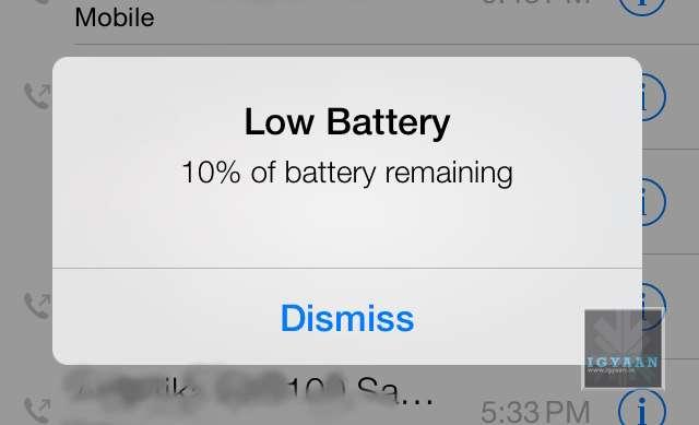 ios 7 battery 0