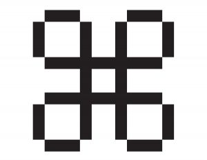 Susan Kare Command icon
