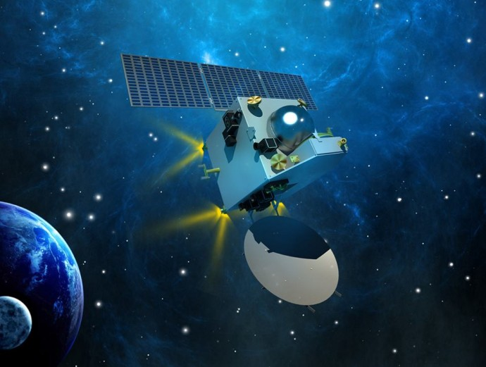 The spacecraft carries a nano sized satellite which will try to look for methane on Mars