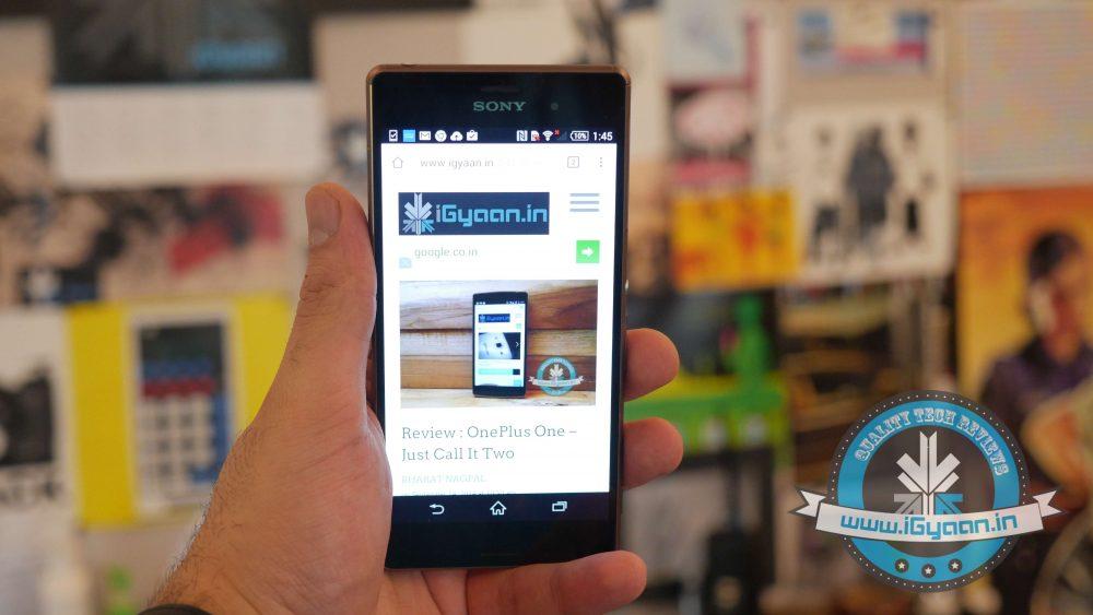 Sony Xperia z3 India5