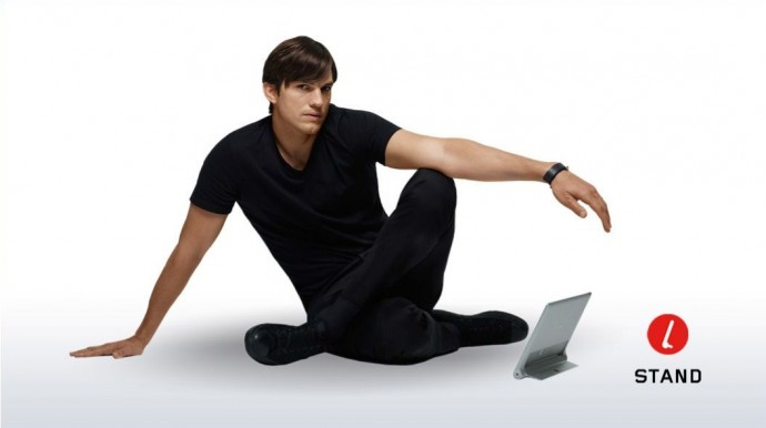 The tablets have been made in collaboration with Product Engineer Ashton Kutcher.