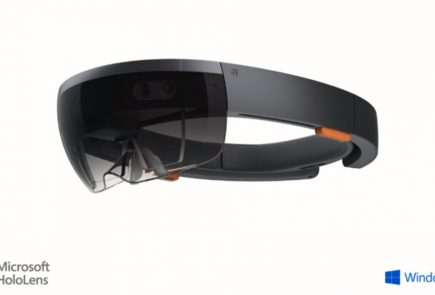 The HoloLens is a self contained computer on its own and doesn't require connection to Phone or a PC.