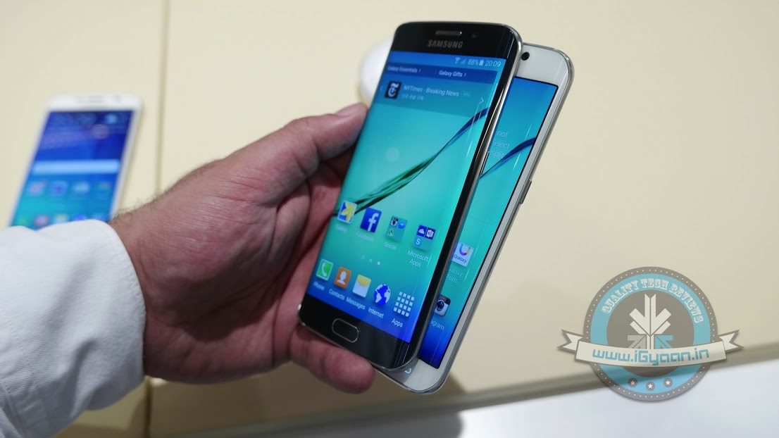 Leaked: Samsung's Latest Galaxy Edge S6 Plus Could Look Like This