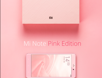 Xiaomi Unveils a Pink Edition of Mi Note on its 5th Anniversary, Priced at Rs. 25,200