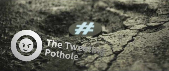 Tweeting pothole 6