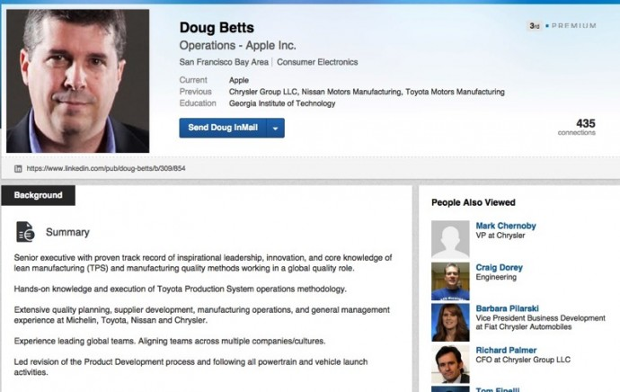 Doug Betts Apple Inc.