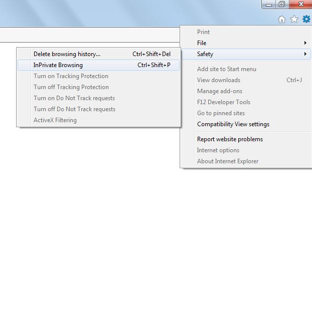 Internet Explorer Step 2