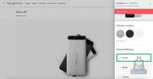 Nexus 6p 5X pricing 1