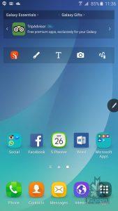 Samsung Galaxy Note 5 screens 0