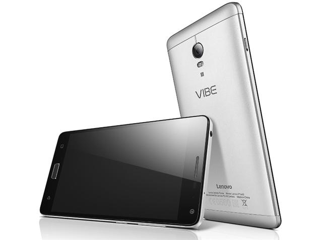 Lenovo Vibe P1 with fingerprint scanner