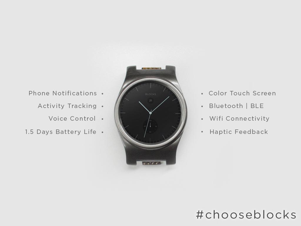Kickstarter Blocks Watch