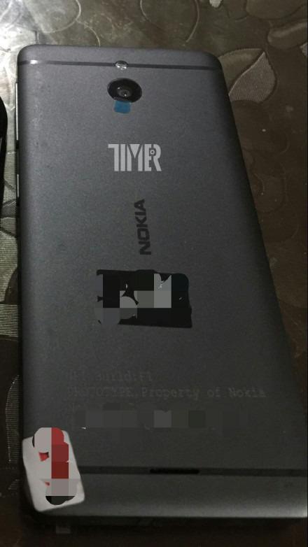 Nokia Prototype feature phone Back
