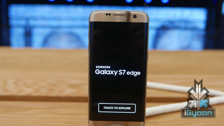 Galaxy S7 S7 Edge - iGyaan Hands On 6