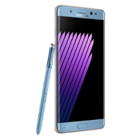 Galaxy Note 7 render blue