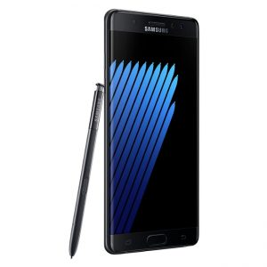 galaxy note 7 black