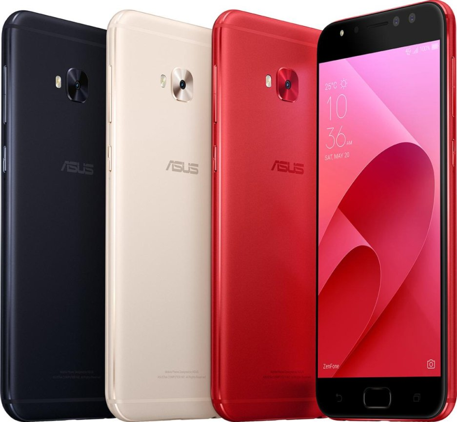 New Asus ZenFone 4 Smartphones Announced