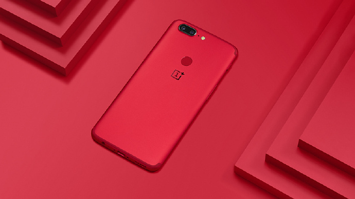 OnePlus 5T Lava Red Limited Edition colour variant launched