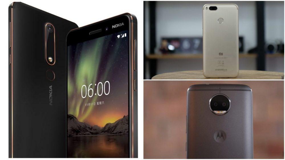 Pubg Mobile Rain Mode Global Update 0 9 5: Nokia 6 (2018) Vs Xiaomi Mi A1 Vs Moto G5s Plus, Specs