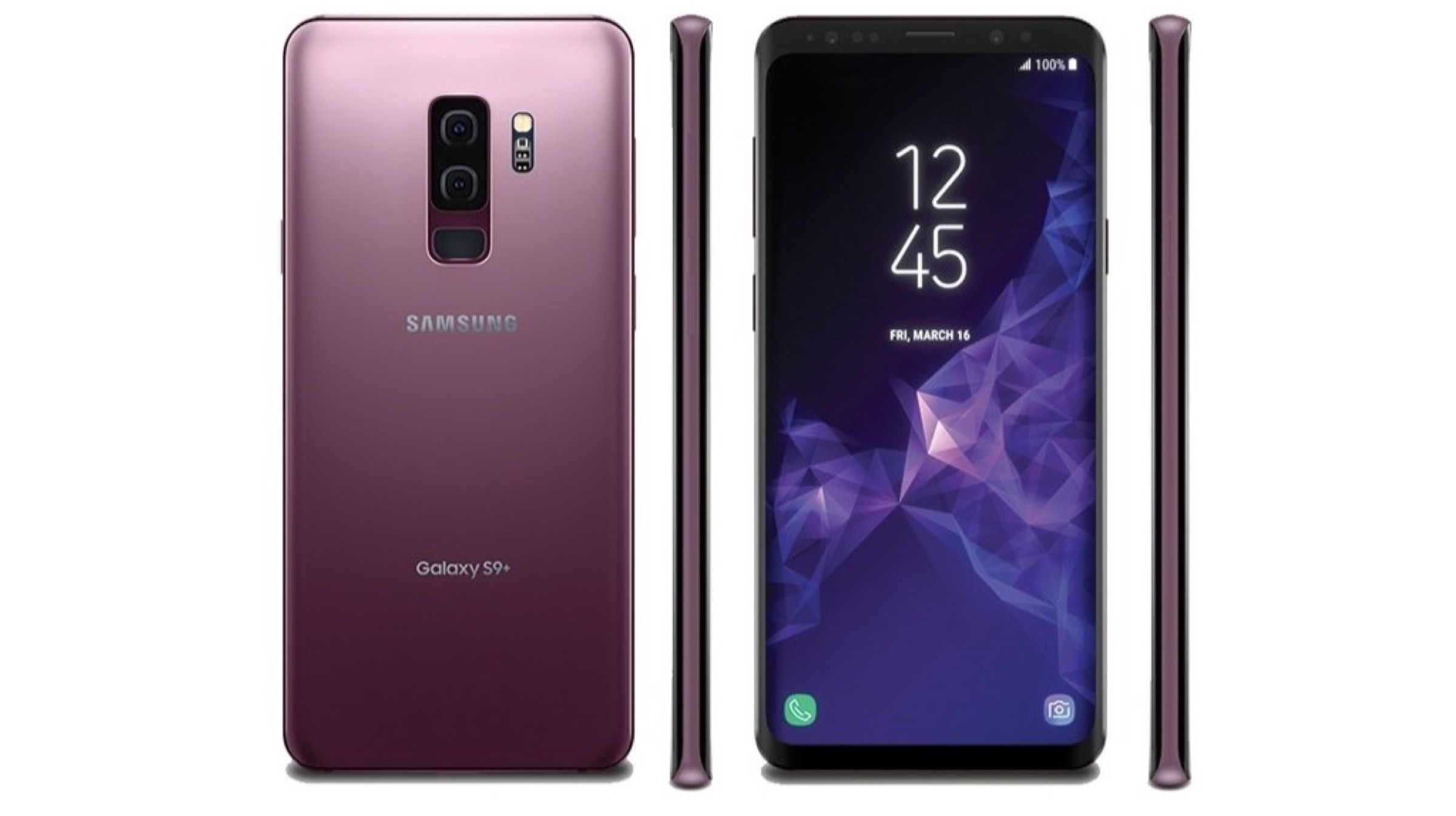 Samsung Galaxy S9, Galaxy S9+ Leaked In Lilac Purple Colour | iGyaan