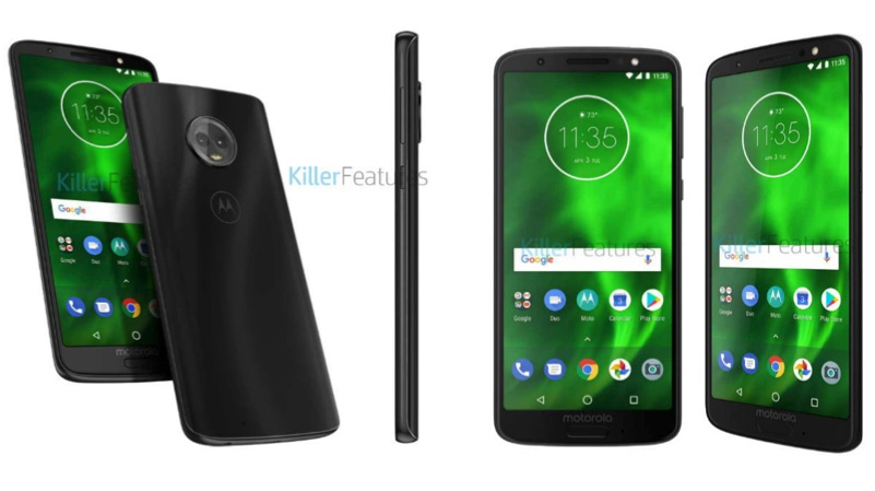 Motorola Moto G6, G6 Plus and G6 Play specs, images leaked