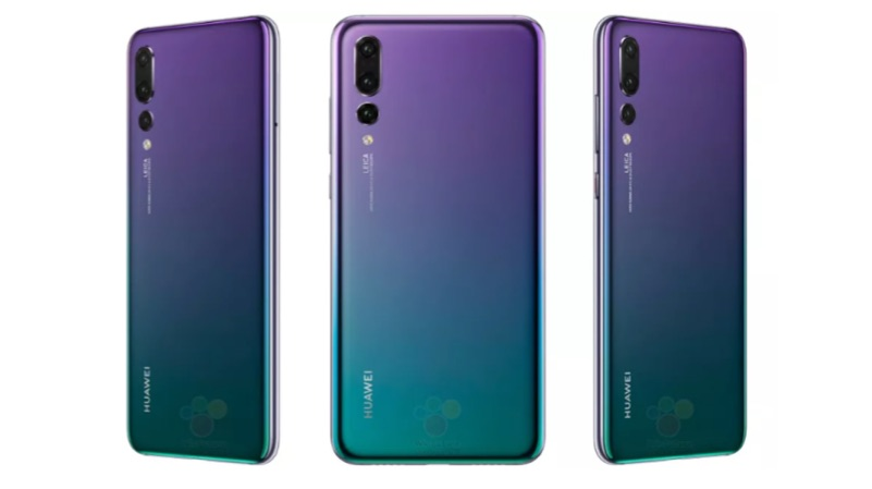 huawei p20 pro leaked on a new twilight colour igyaan network. Black Bedroom Furniture Sets. Home Design Ideas