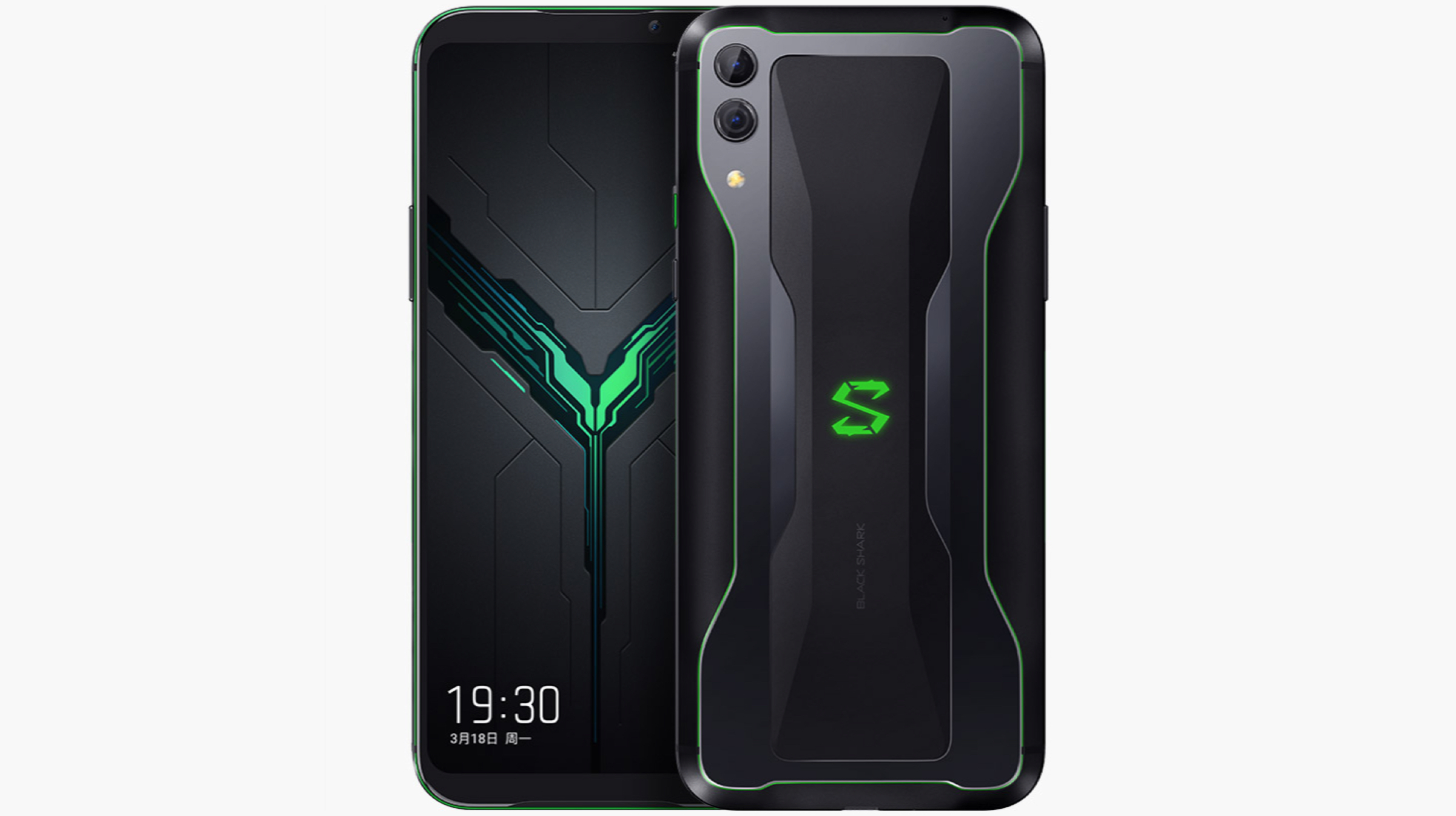 Xiaomi Black Shark 2 Front And Back