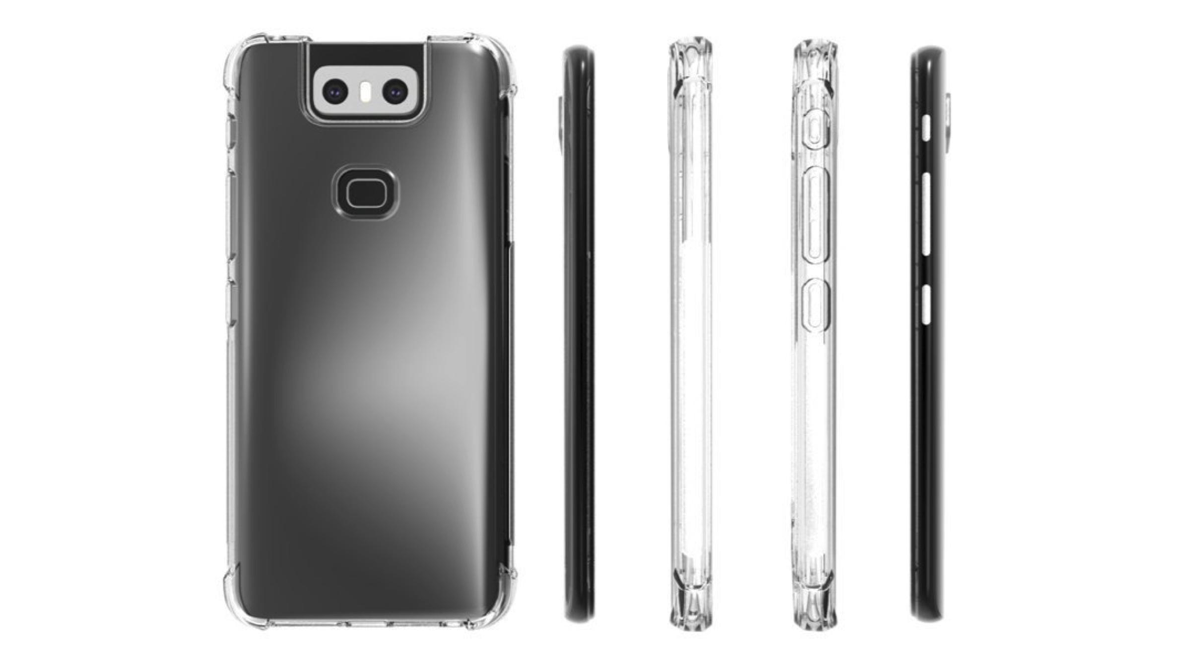 Asus Zenfone 6 Case Renders