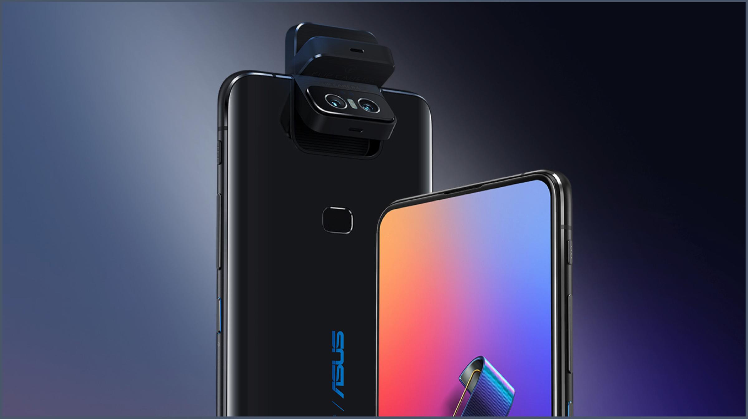 Presentado el celular Asus ZenFone 6 con cámara emergente