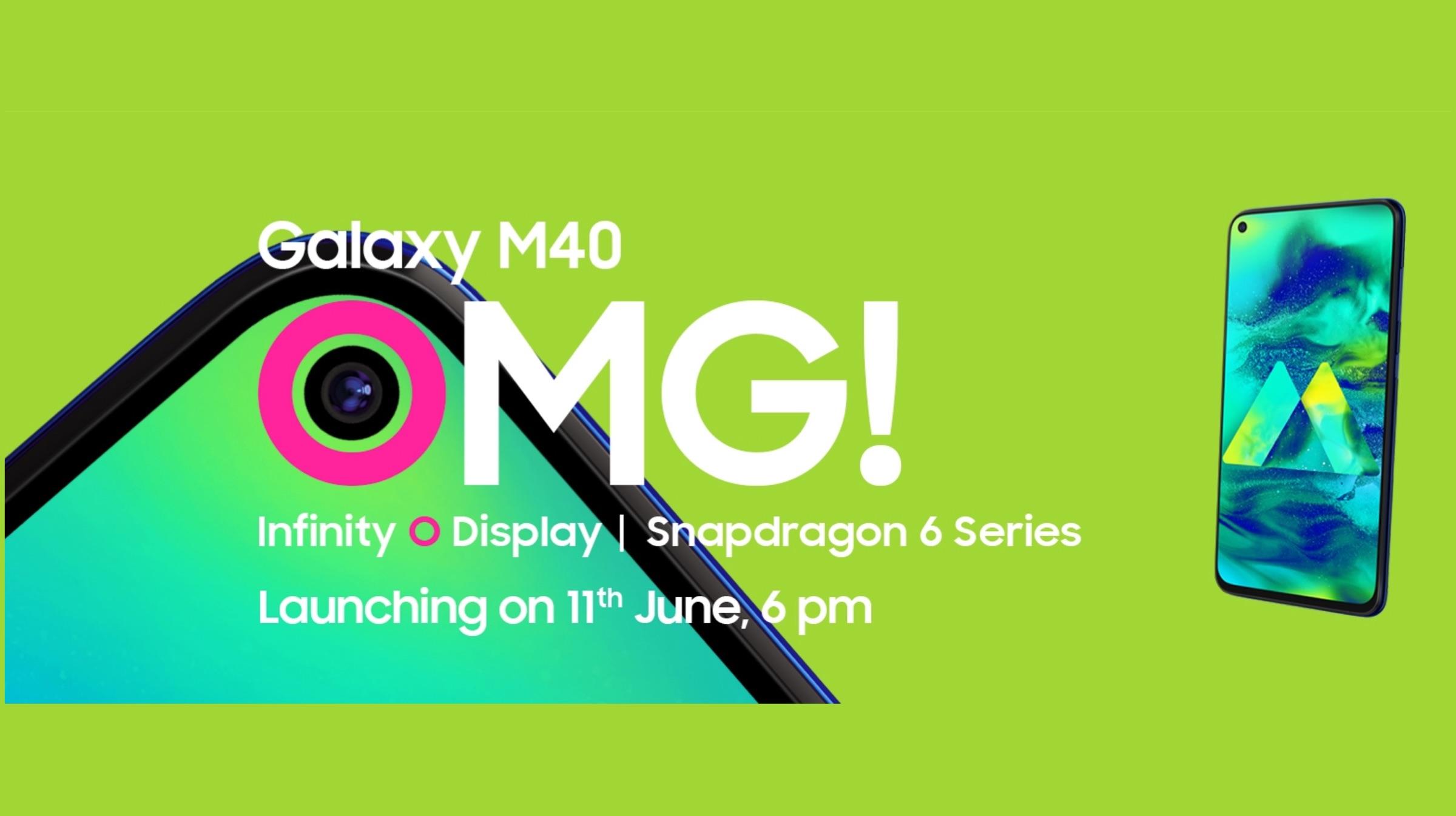 Samsung Galaxy M40 Teaser