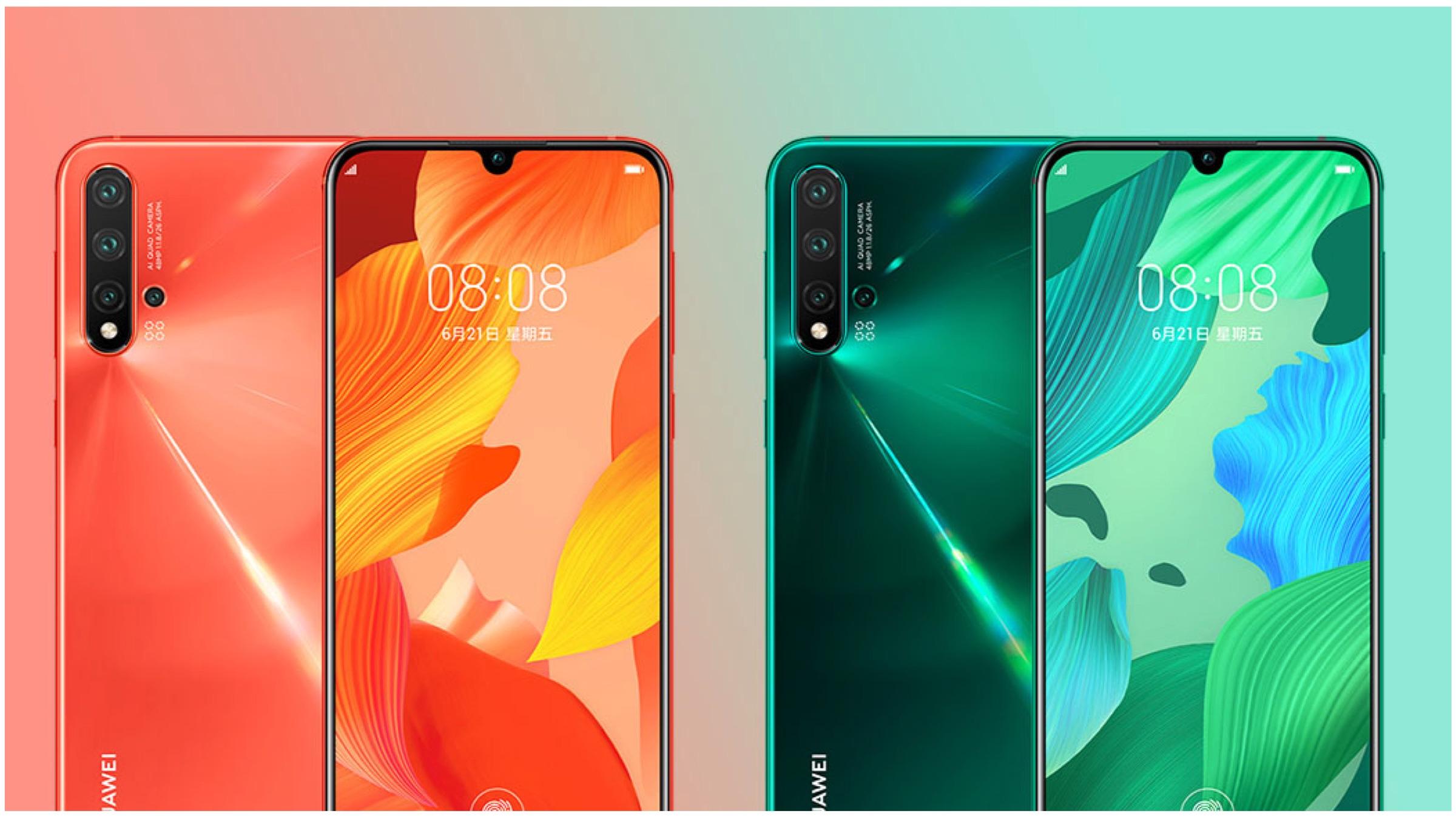 Huawei Nova 5 Pro With Kirin 810
