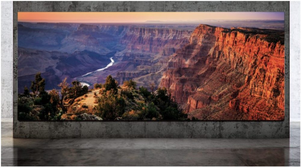 Samsung's enormous  232-inch 8K The Wall TV Ships Globally In July