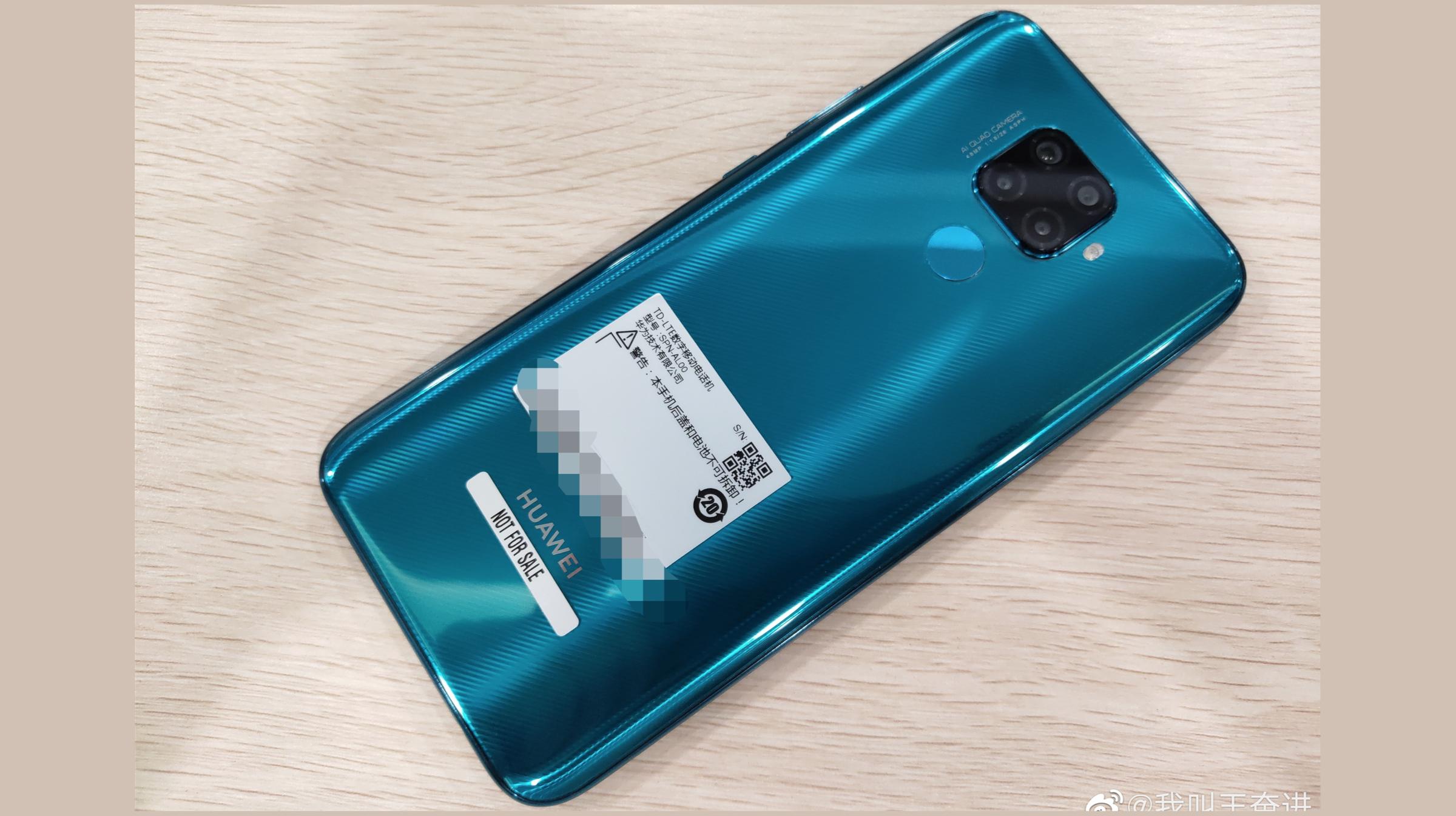 Huawei Nova 5i Pro Rear