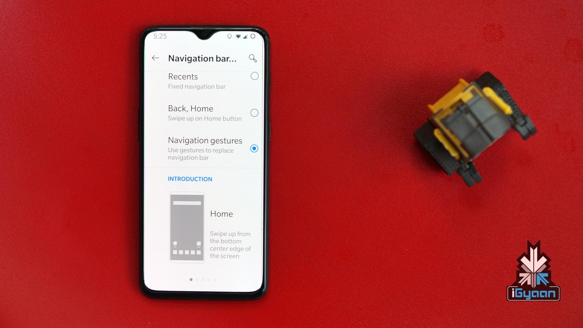 OnePlus Navigation Gestures