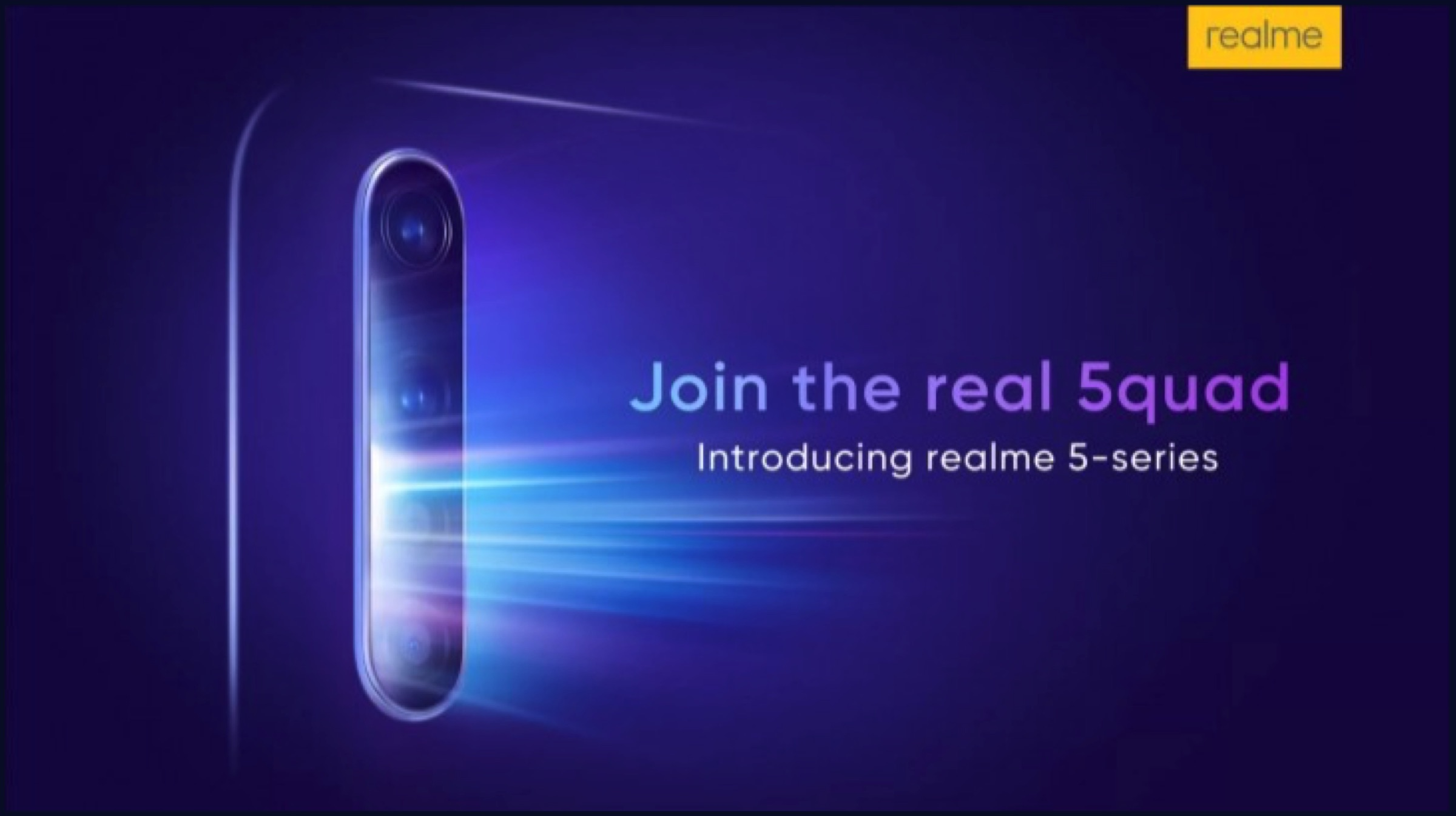 Realme 5, Realme 5 Pro to launch on August 20th